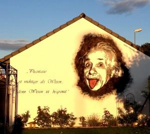 Portrait Einstein